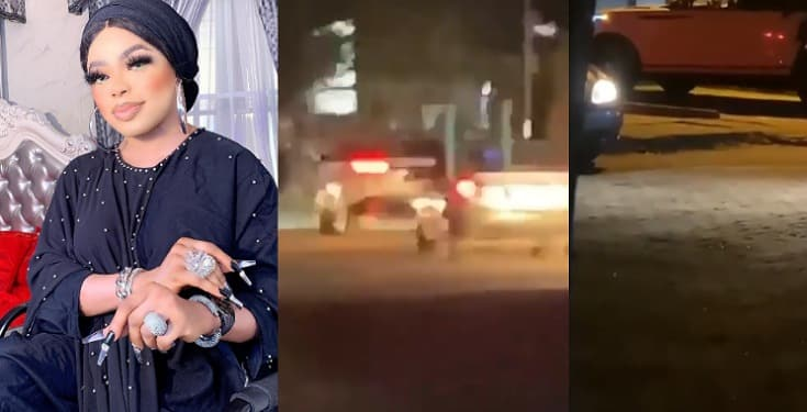 Nigeria Crossdresser, Bobrisky Arrested By Police In Lekki (Video)