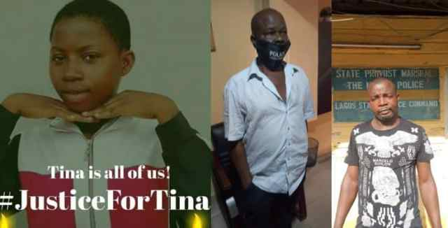 Lagos police command release photos of police officers accused of killing 17-year-old girl in Iyana-Oworo