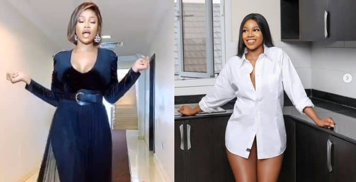 "Tacha tells haters as she shows up at BBNaija reunion ""You can't get rid of me bi*tch"" (Video)"