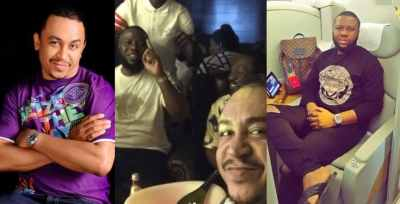 #Trending: Nigerians drag Daddy Freeze for dining with Hushpuppi after criticizing Pastors
