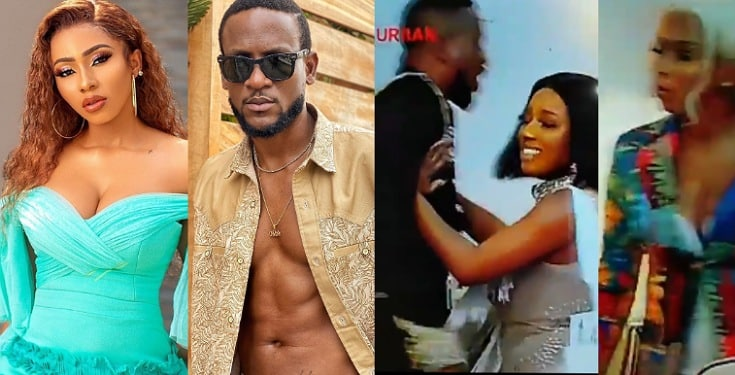 Mercy Eke And Omashola Fight Dirty At BBNaija Reunion