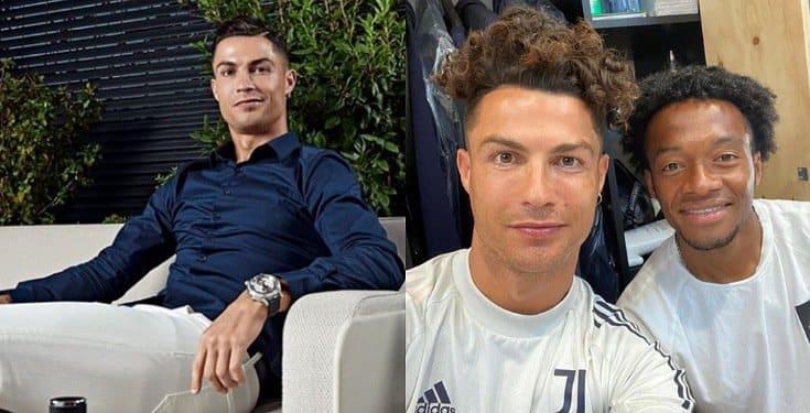 Cristiano Ronaldo new hairstyle