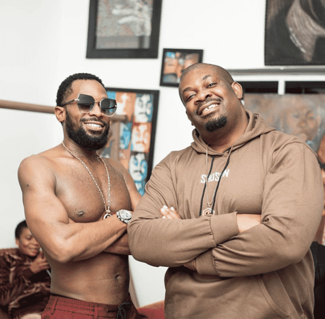 D'Banj and Don Jazzy serve friendship goals