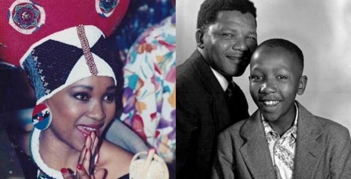 Nelson Mandela's daughter, Zindzi died on same date her brother died years ago
