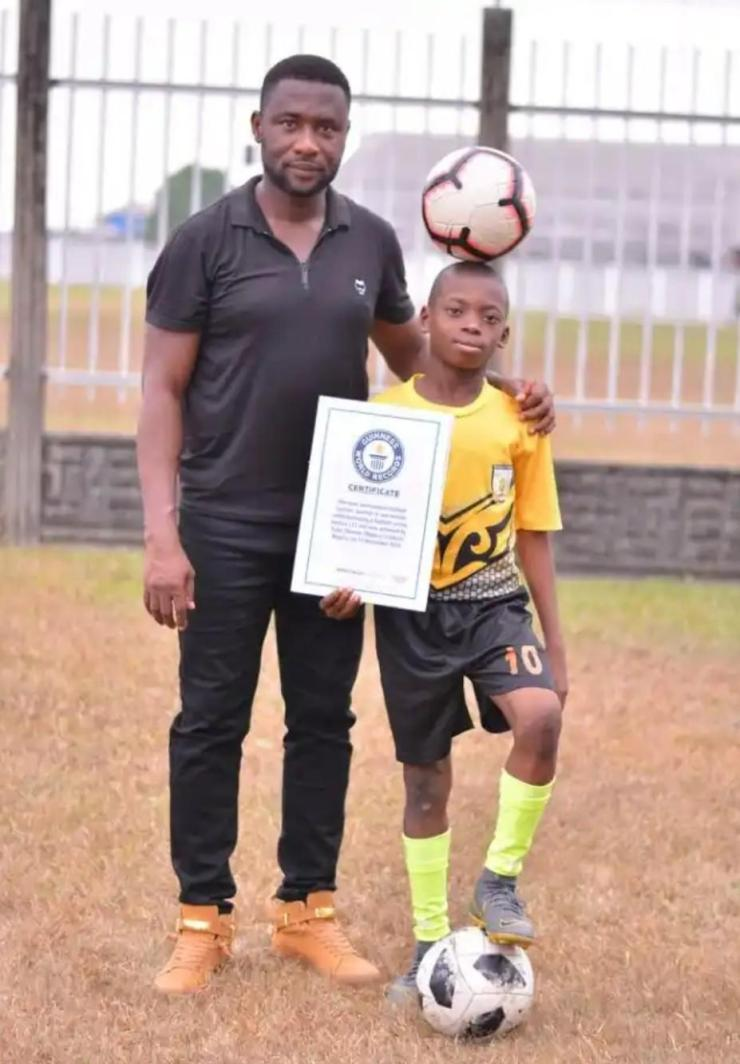 Meet The 11-Year-Old Footballer Who Set A Guiness World Record 1