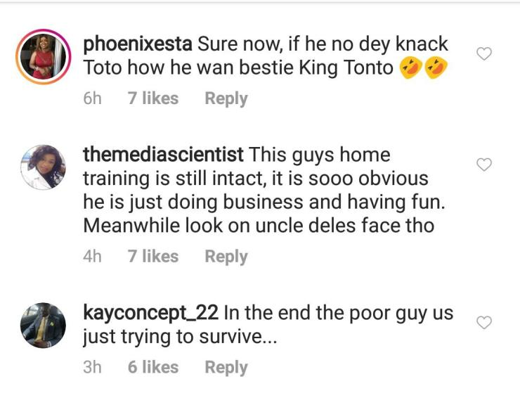 He is sleeping with Tonto Dikeh – Nigerians react as Bobrisky says he is still into girls (Video)