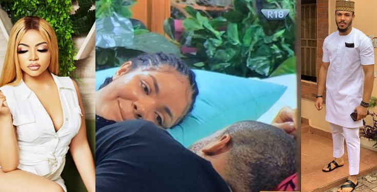 "BBNaija 2020: Nengi forbids Ozo from having a female friend ""Female friend kill you there"" (Video)"
