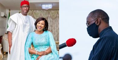 Ifeanyi Okowa and wife test positive for COVID-19