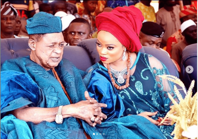 Queen Anu Alaafin of Oyo