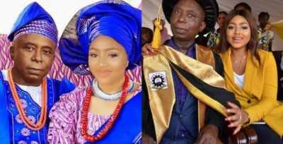 """My husband looked like a farmer when we met"" – says Regina Daniels"