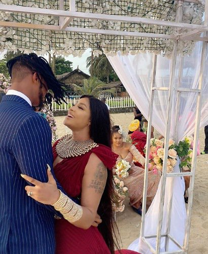 Angela Okorie marries fiance