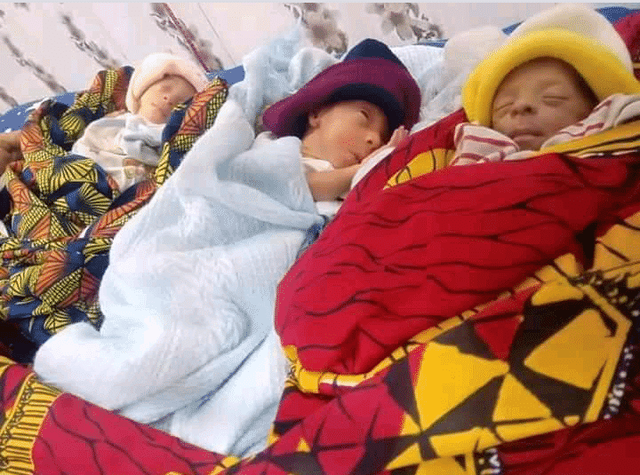 Groundnut Seller Gives Birth To Triplets