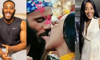 BBNaija 2020: Erica dragged for sticking her tongue into Kiddwaya's mouth (Video)