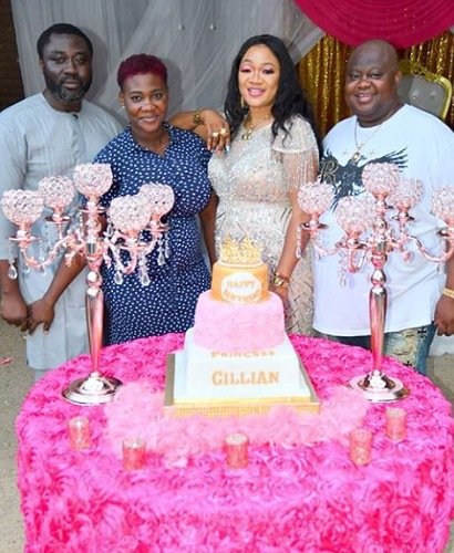 Mercy Johnson says she hasn't even started