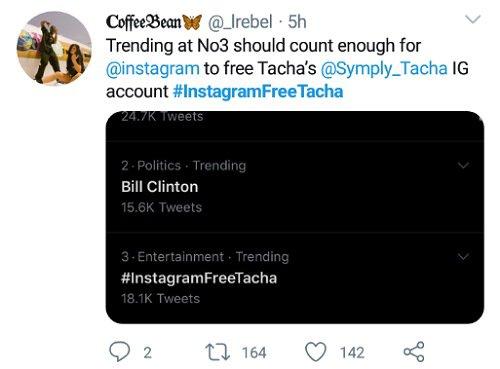 Titans accuse Instagram