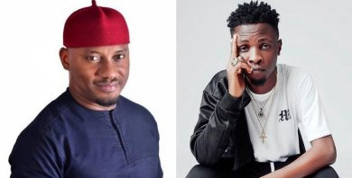 Yul Edochie drums support for Laycon, says his intelligent
