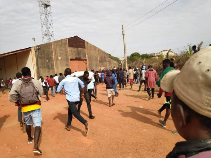 Covid-19 Palliatives looted in Jos