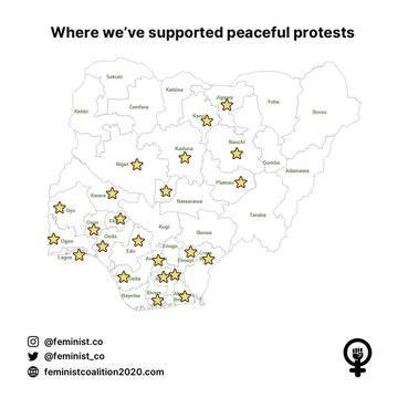 feminist coalition progress report endsars protest
