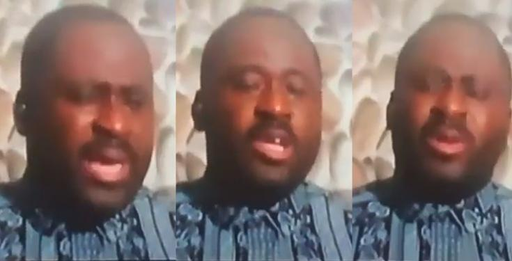 Desmond Elliot breaks down in tears following backlash from Nigerians (Video)