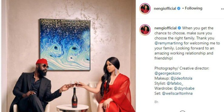 Nengi deal with Remy Martin