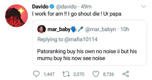 Man trolls Davido over Lamborghini