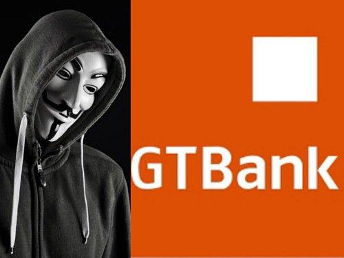 Anonymous hacks GTBank