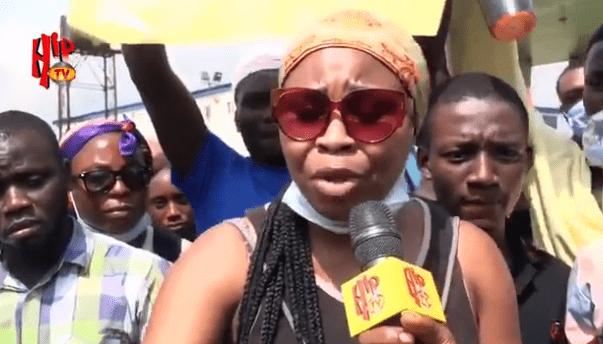 Young lady slams Buhari