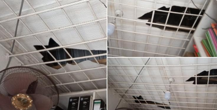 Man reveals how an iron protector prevented his shop from being robbed in Imo State (Photos)