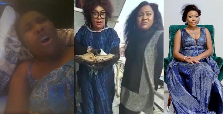 Doris Ogala goes spiritual on Uche Elendu