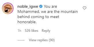Nengi and Noble Igwe, Noble Igwe Dragged For Complimenting Nengi With Prophet Mohammed's Name, Premium News24