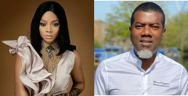 Toke Makinwa slams Reno