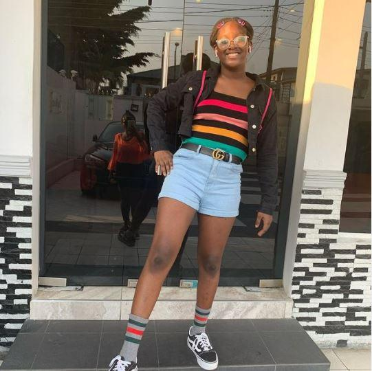 Isabel idibia, 2face daughter