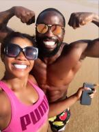 Wizkid's 1st babymama, Shola Ogudu shows off her man (Photos)
