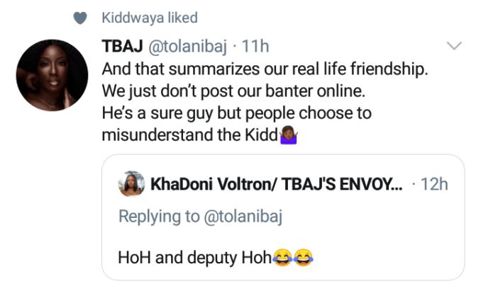 """Kiddwaya is a sure guy but people misunderstand him"""