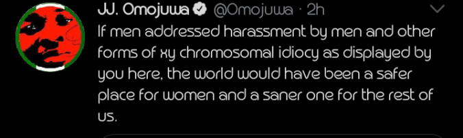 """""""You are the villain"""" – Omojuwa drags Samklef for his sexual tweet about Tems"""
