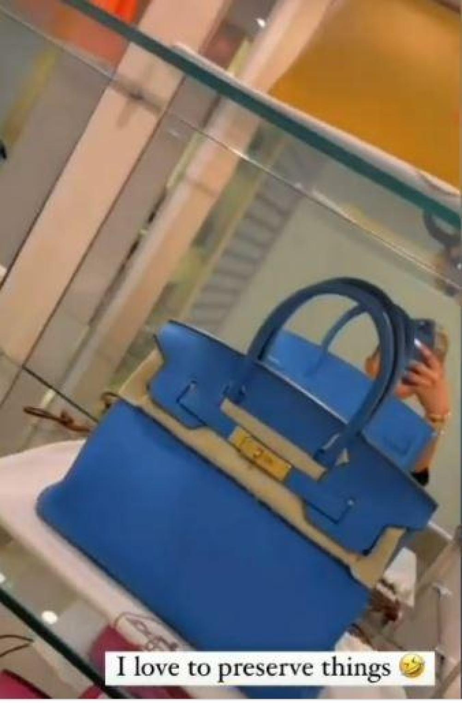 Toke Makinwa Hermes Bag