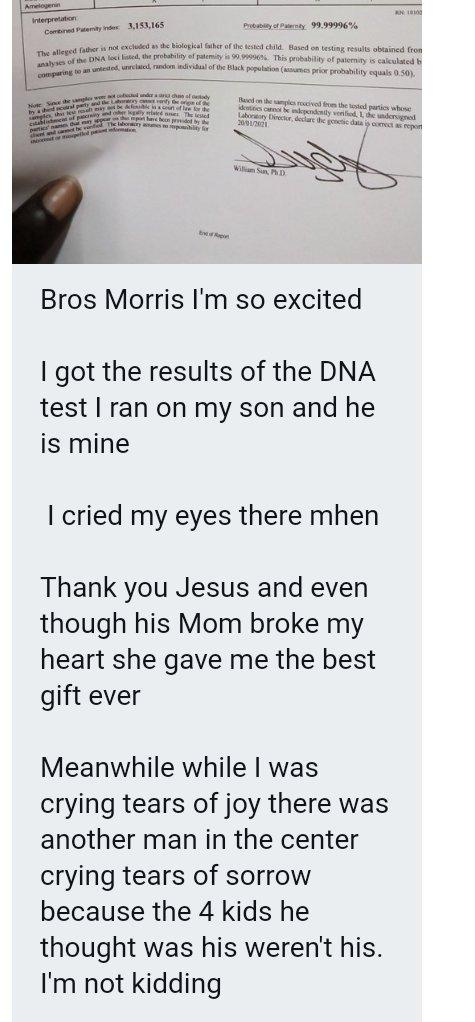 man DNA father kids