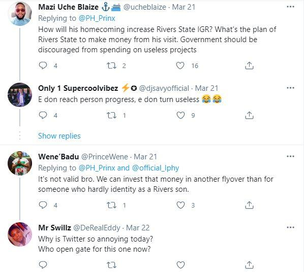 Reactions as Burna Boy allegedly charge Rivers Govt. N100M for homecoming concert