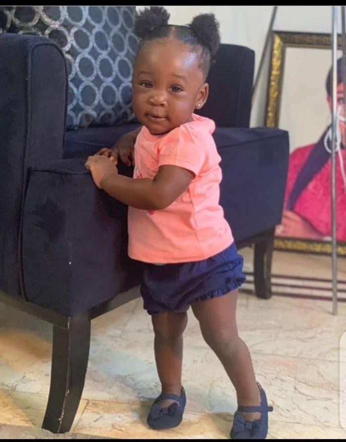 Mercy Johnson starve daughter