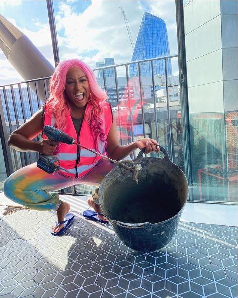 DJ Cuppy pink penthouse