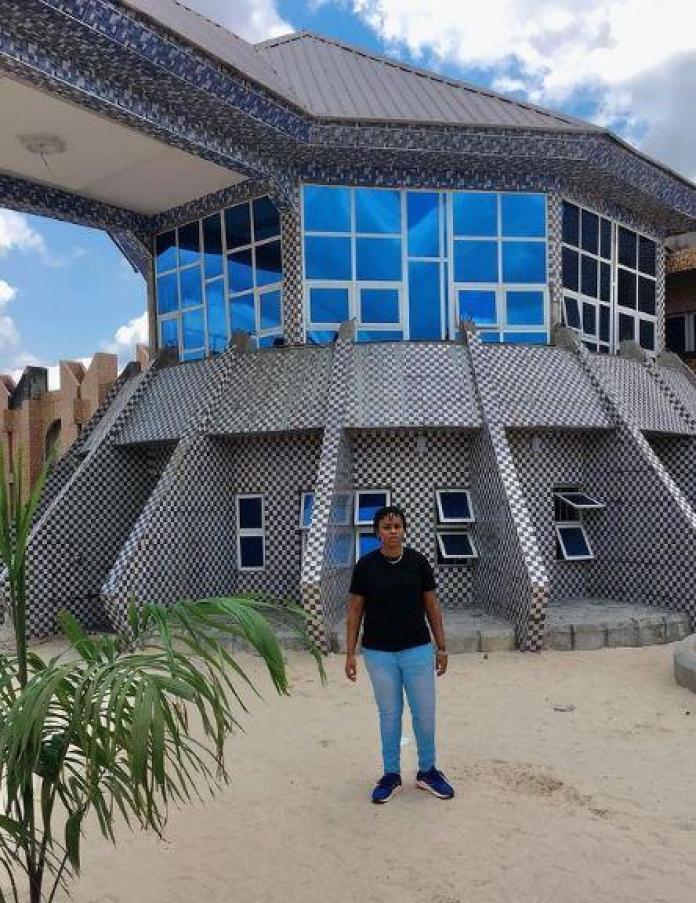 Efemena Blanco Father's Mansion social media