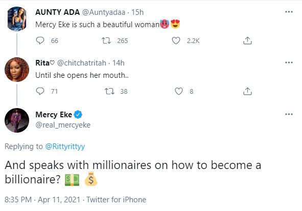 Mercy Eke Accent Troll