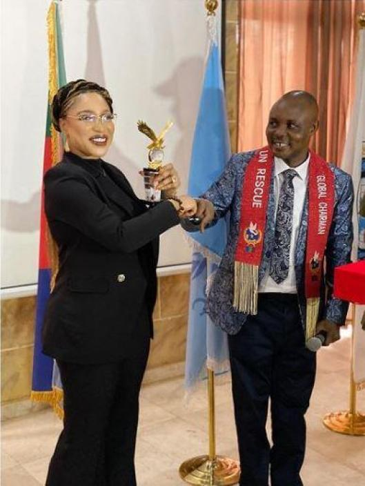 Tonto Dikeh United Nations Award