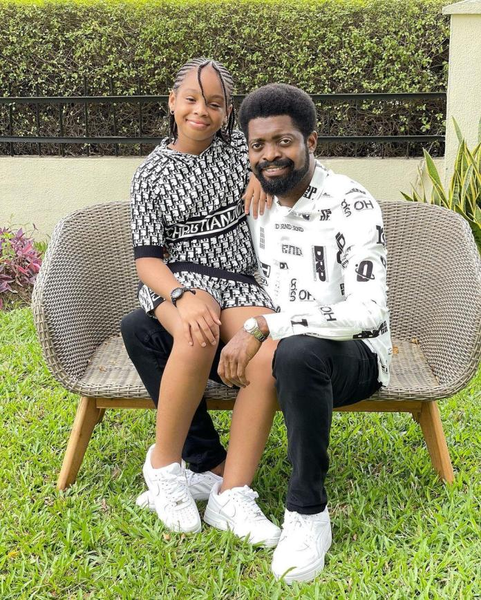 Basketmouth daughter Birthday Amy Celebrates