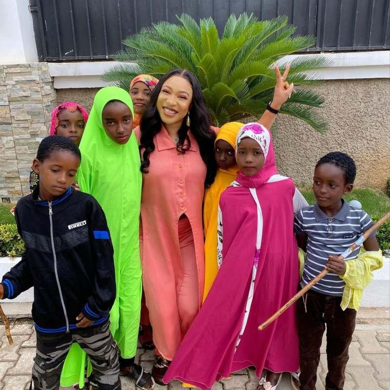 Tonto Dikeh to feed 2000 Muslim children in the spirit of Eid-el-Fitr
