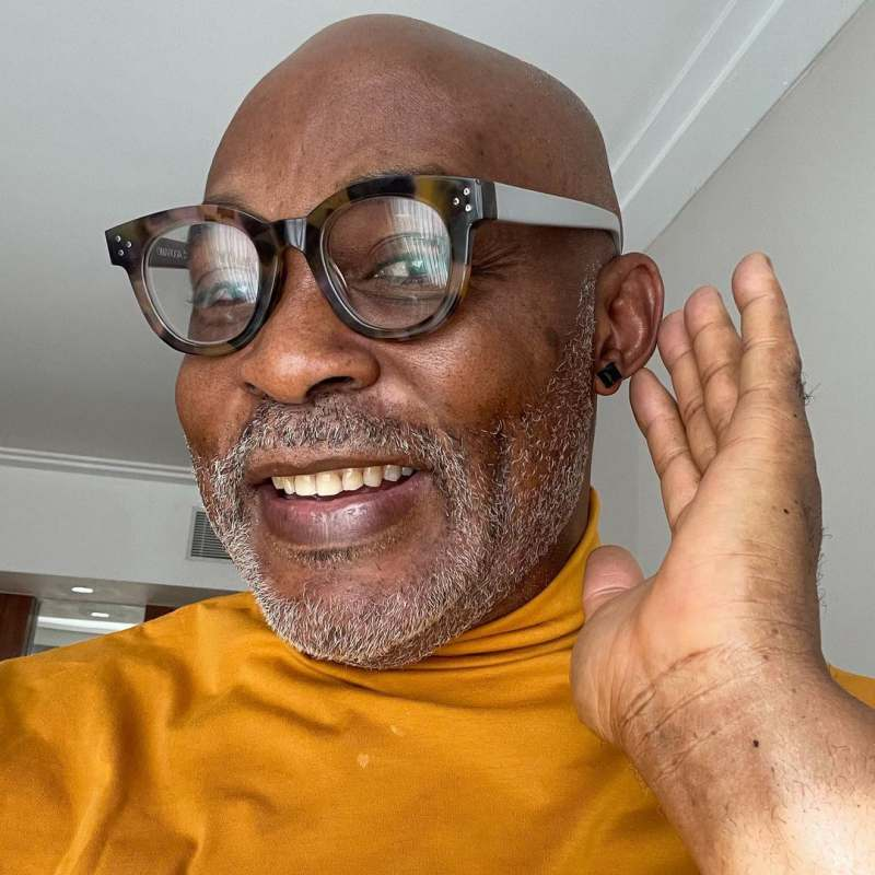 Actor, RMD shows off new look in black & gold stud earrings in anticipation of 60th birthday
