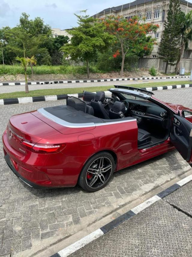 Mercy Eke acquires Mercedes Benz convertible worth millions of naira (Video)