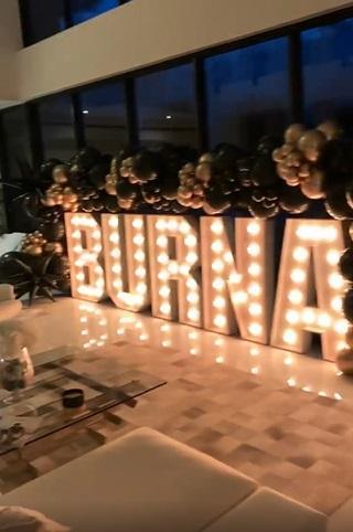 Burna Boy thrilled by surprise birthday bash organized by friends (Video)