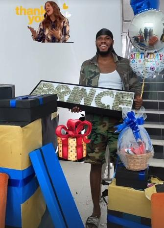 Prince Nelson receives loads of gifts including piece of land ahead of birthday (Video)