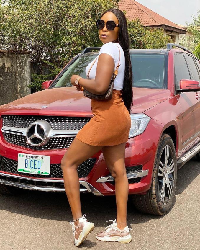 Blessing Okoro men sweet